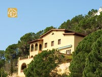 Holiday villas Costa Brava Spain - Casa Romantica - Villa outside