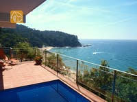 Holiday villas Costa Brava Spain - Villa Felicity - One of the views
