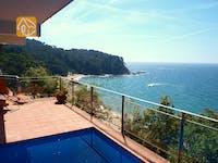 Villas de vacances Costa Brava Espagne - Villa Felicity - une des vues