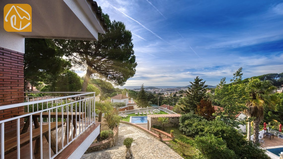 Holiday villas Costa Brava Spain - Villa Leonora - One of the views