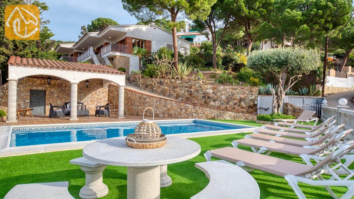 Villas de vacances Costa Brava Espagne - Villa Leonora - Piscine