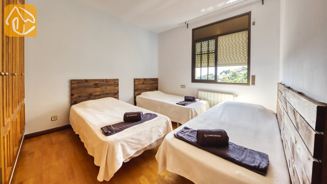 Ferienhäuser Costa Brava Spanien - Villa Paris - Schlafzimmer