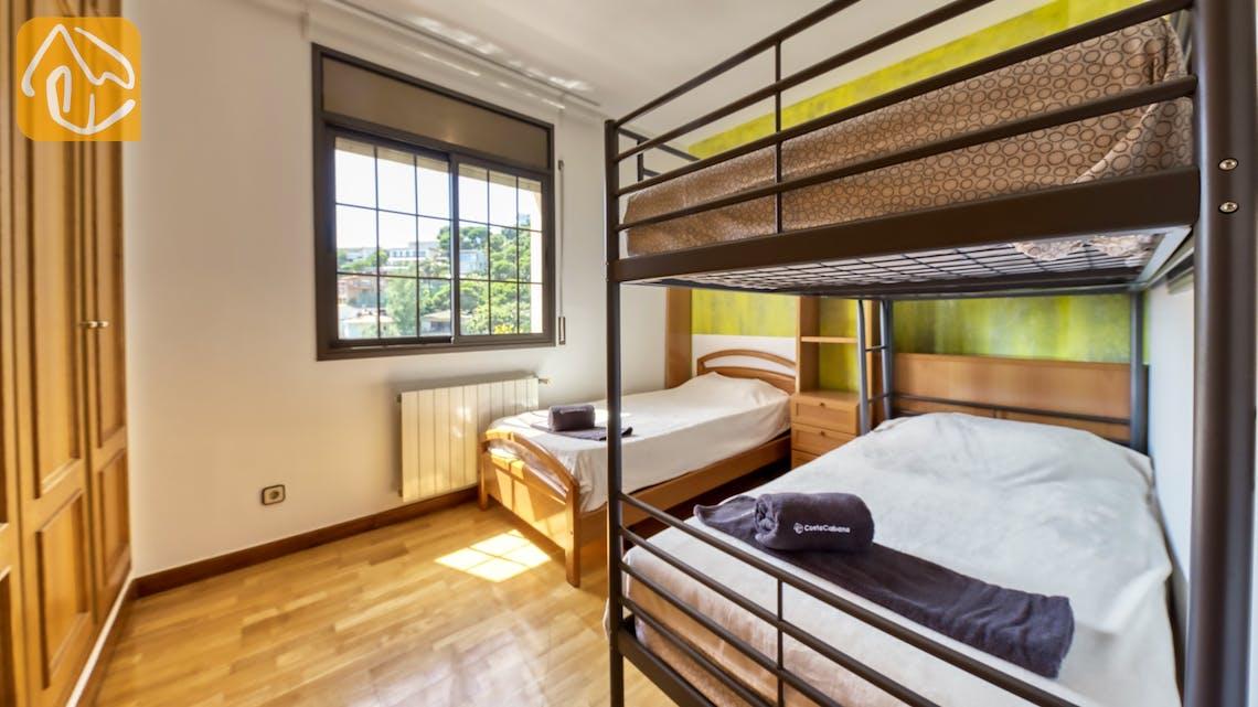 Casas de vacaciones Costa Brava España - Villa Paris - Dormitorio