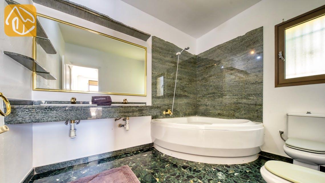 Casas de vacaciones Costa Brava España - Villa Paris - Baño