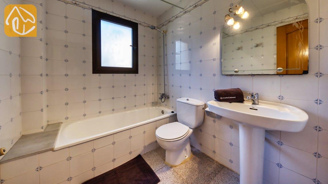 Ferienhäuser Costa Brava Spanien - Villa Paris - Badezimmer