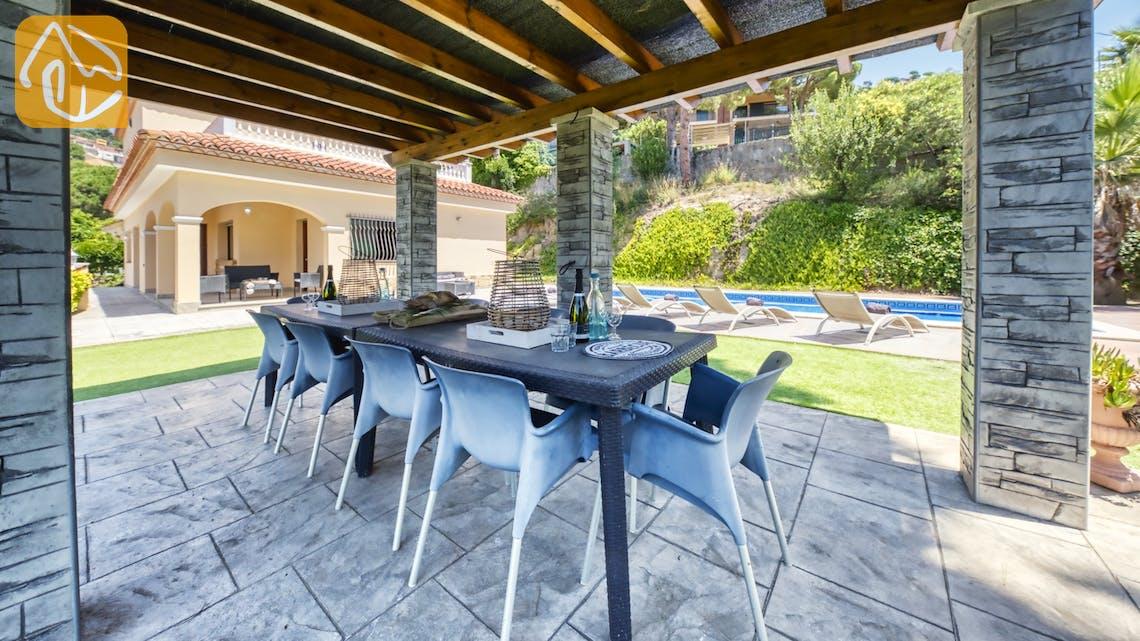 Casas de vacaciones Costa Brava España - Villa Paris - Sala de estar