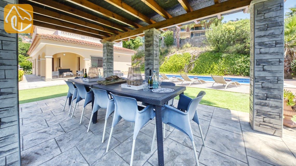 Holiday villas Costa Brava Spain - Villa Paris - Lounge area