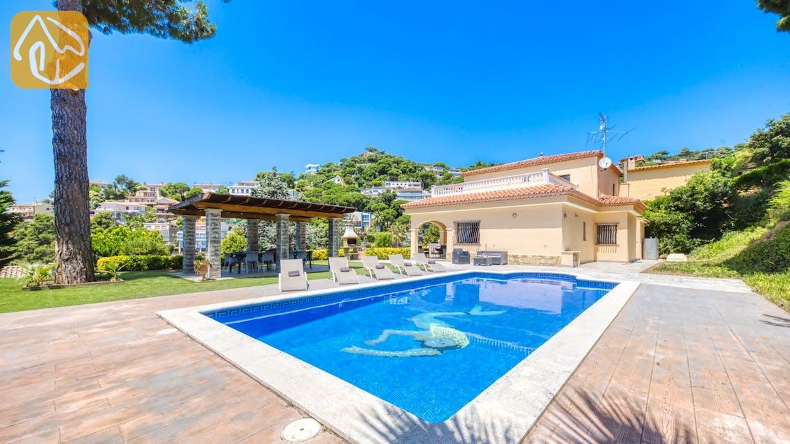 Ferienhäuser Costa Brava Spanien - Villa Paris - Schwimmbad