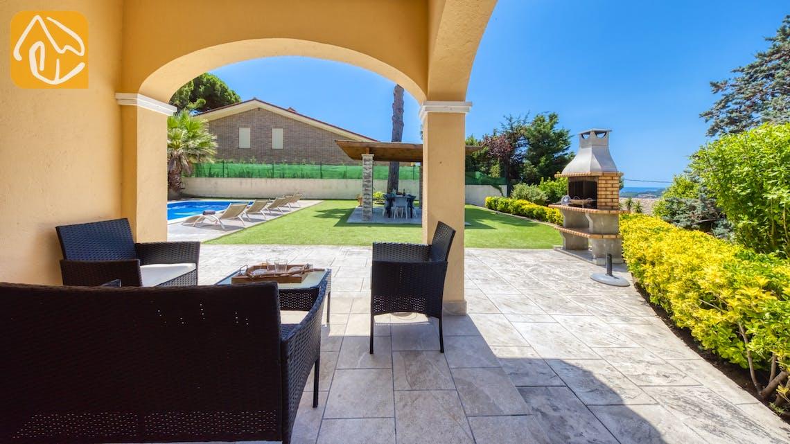 Ferienhäuser Costa Brava Spanien - Villa Paris - Sitzecke