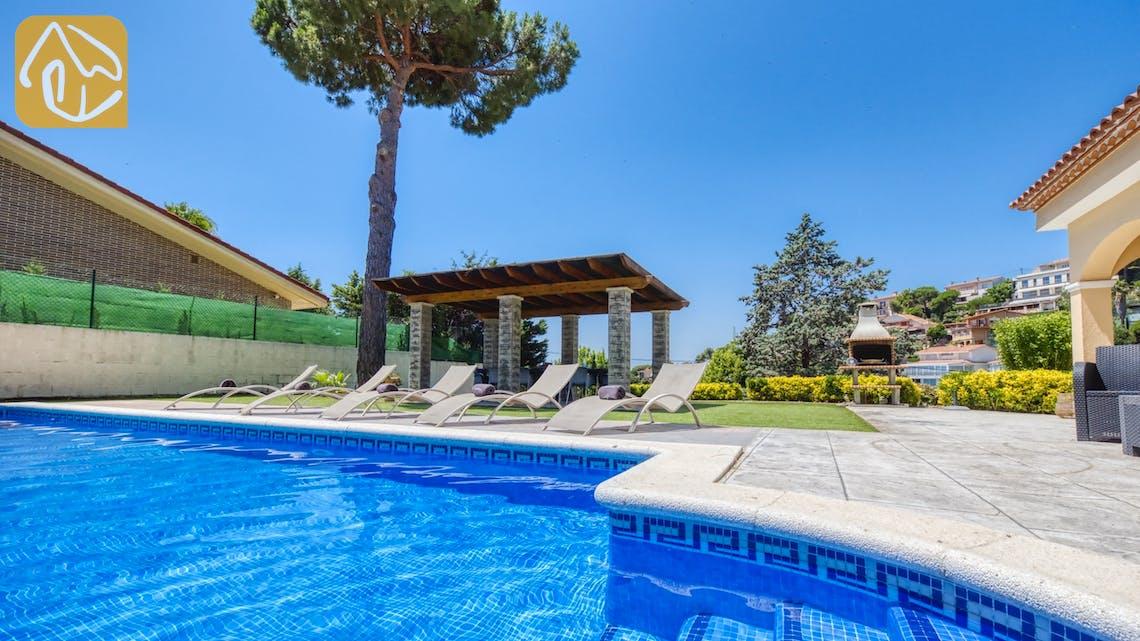 Casas de vacaciones Costa Brava España - Villa Paris - Piscina