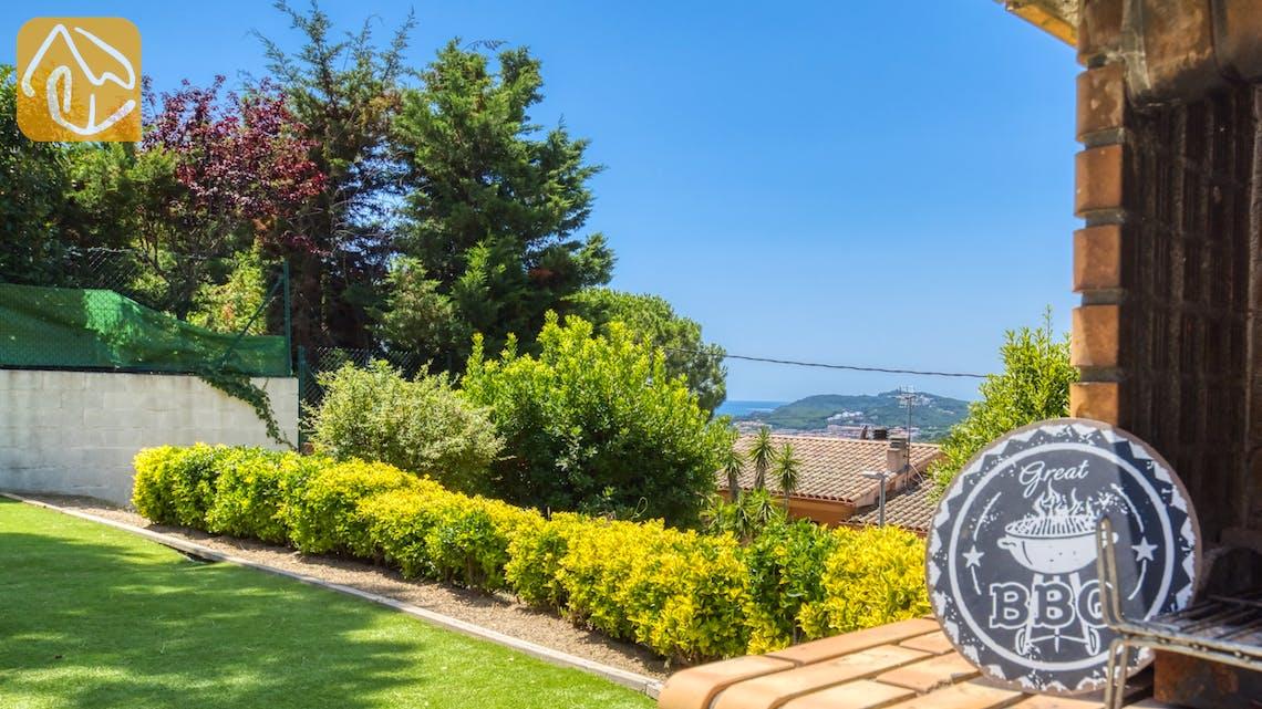 Holiday villas Costa Brava Spain - Villa Paris - One of the views
