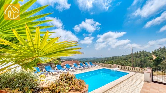 Casas de vacaciones Costa Brava España - Villa Santa Maria - Piscina