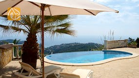 Holiday villas Costa Brava Spain - Villa Sunrise - Swimming pool