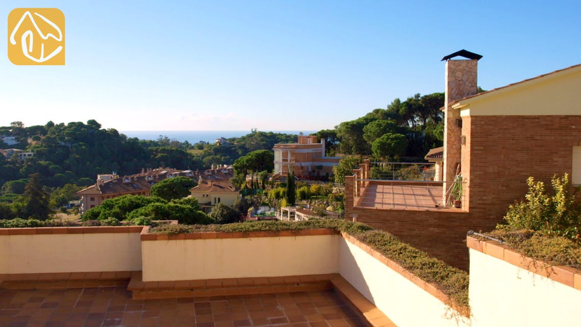 Holiday villas Costa Brava Spain - Villa Valentina - Terrace