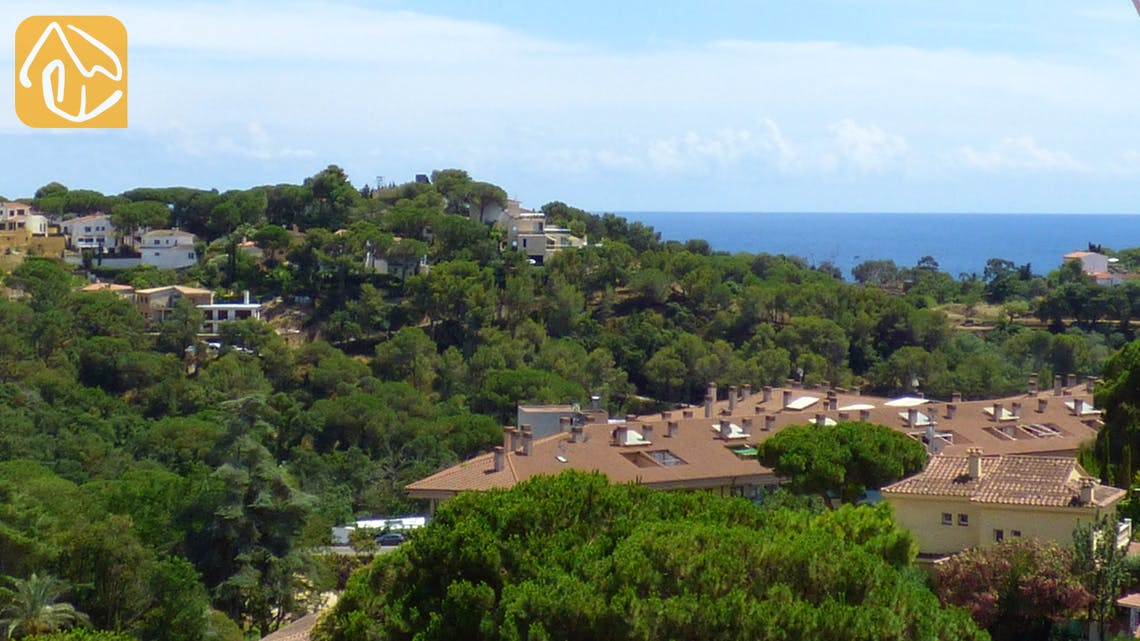 Holiday villas Costa Brava Spain - Villa Valentina - One of the views