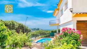 Villas de vacances Costa Brava Espagne - Villa Valentina - Villa dehors