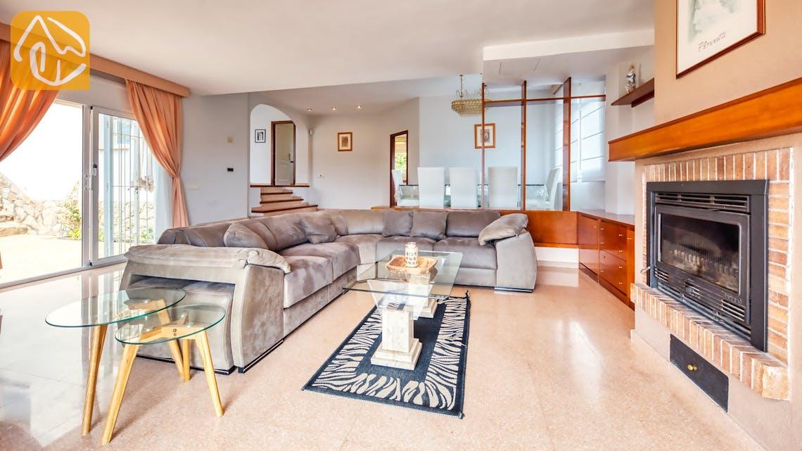 Villas de vacances Costa Brava Espagne - Villa Valentina - Zone de vie