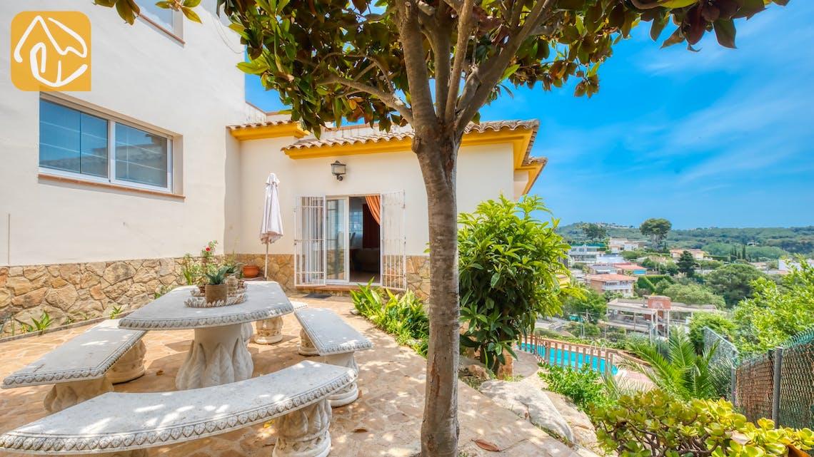 Villas de vacances Costa Brava Espagne - Villa Valentina - Coin romantique