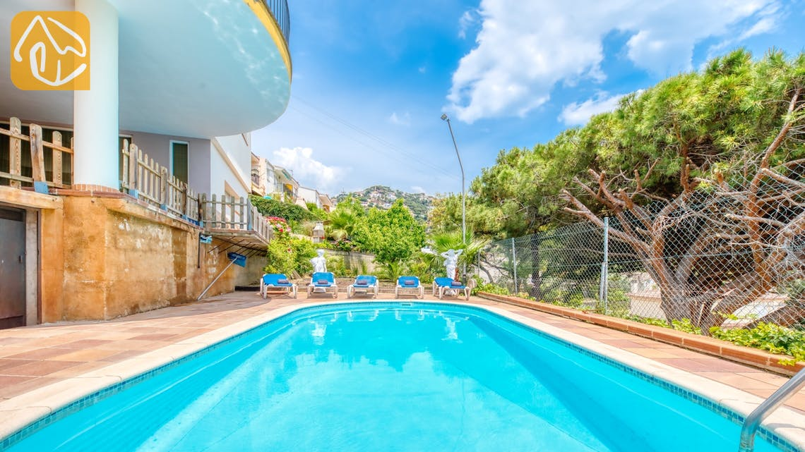 Villas de vacances Costa Brava Espagne - Villa Valentina - Piscine
