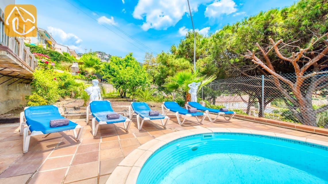 Villas de vacances Costa Brava Espagne - Villa Valentina - Transats