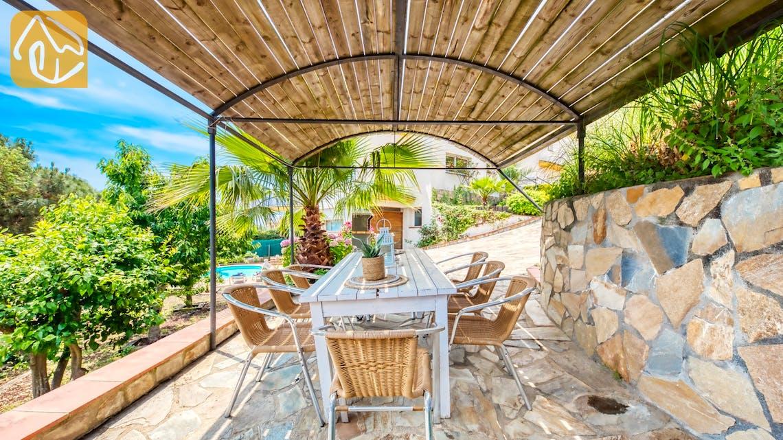 Villas de vacances Costa Brava Espagne - Villa Valentina - BBQ Area
