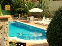 Holiday villas Costa Brava Spain - Villa Lolita - Villa outside