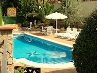 Ferienhäuser Costa Brava Spanien - Villa Lolita - Villa Außenbereich