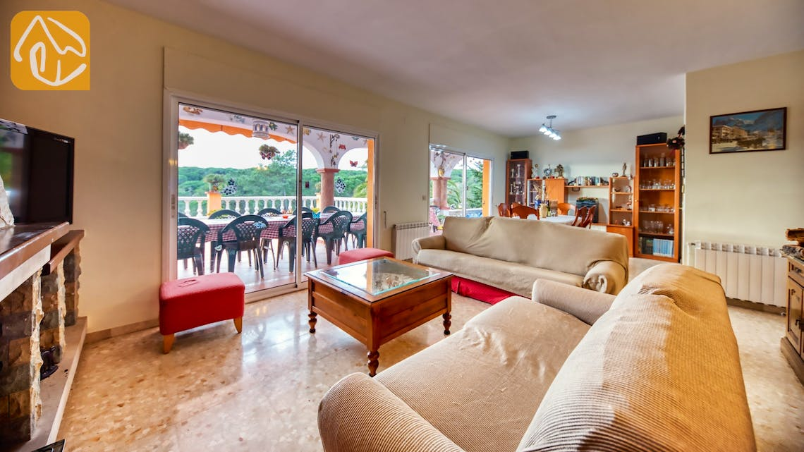 Holiday villas Costa Brava Spain - Villa Joy - Living room