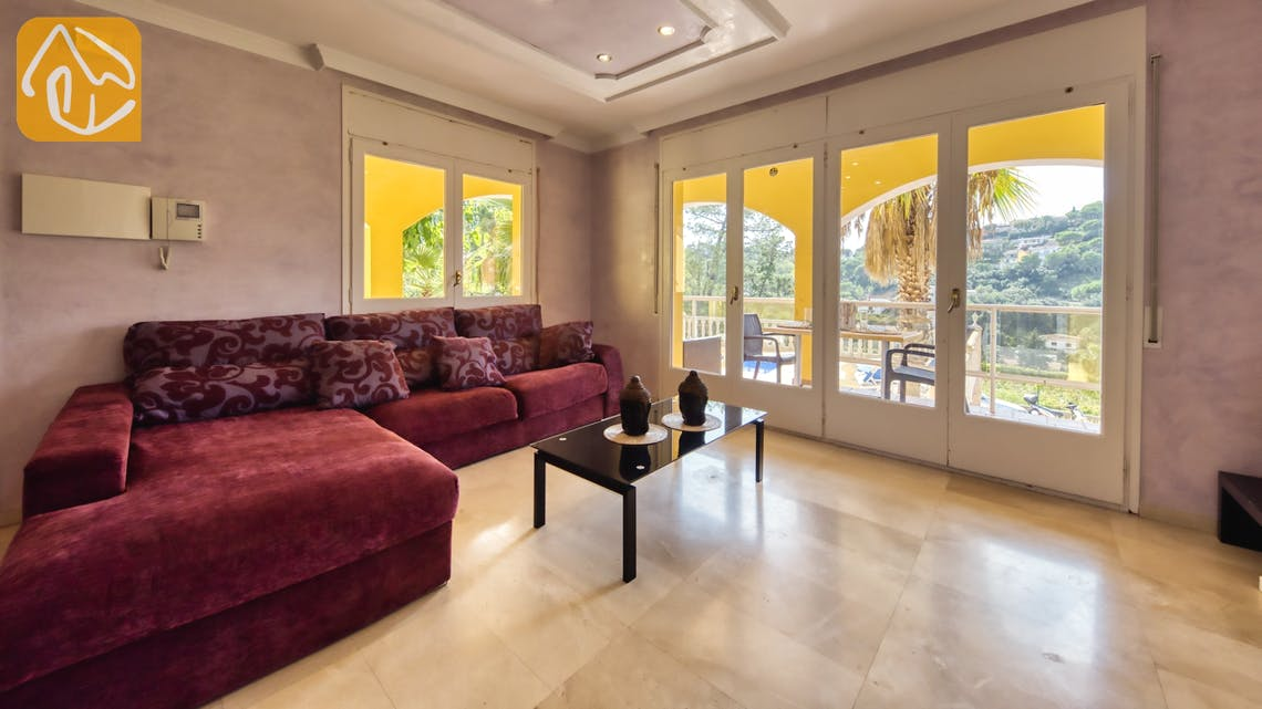 Casas de vacaciones Costa Brava España - Villa Manuela - Salón