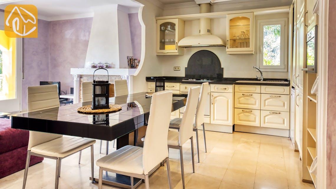 Casas de vacaciones Costa Brava España - Villa Manuela - Cocina
