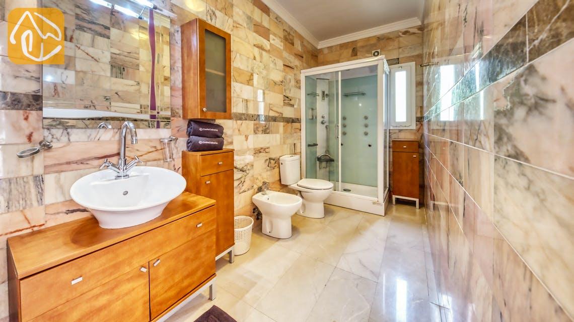 Casas de vacaciones Costa Brava España - Villa Manuela - Baño