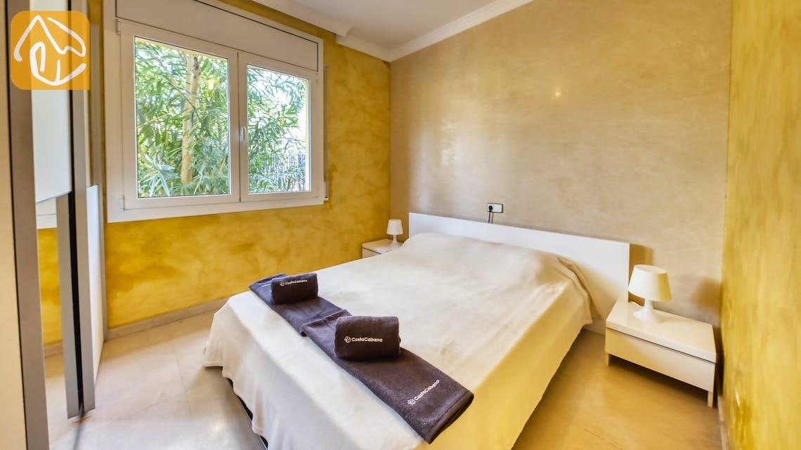 Casas de vacaciones Costa Brava España - Villa Manuela - Dormitorio