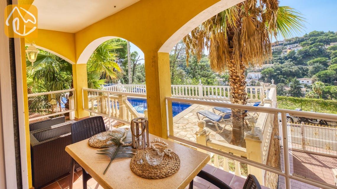 Casas de vacaciones Costa Brava España - Villa Manuela - Terraza