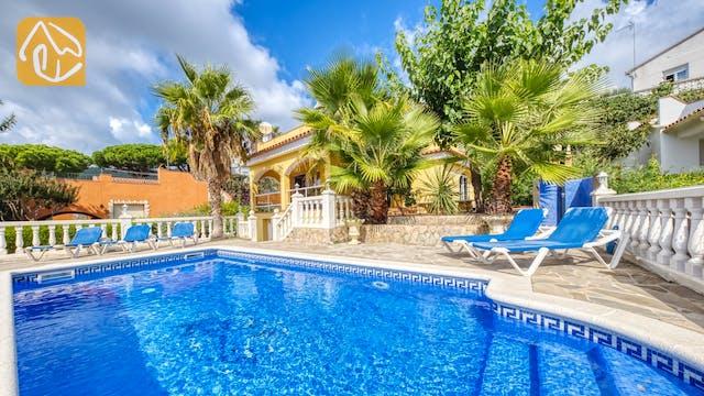 Casas de vacaciones Costa Brava España - Villa Manuela - Piscina