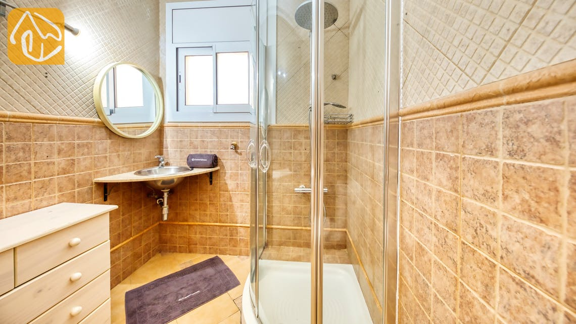 Holiday villas Costa Brava Spain - Villa Donna - Bathroom