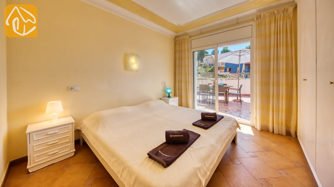 Holiday villas Costa Brava Spain - Villa Donna - Bedroom