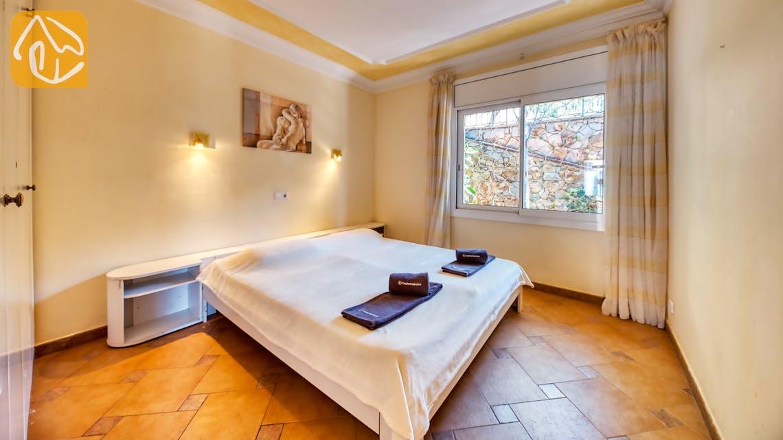 Casas de vacaciones Costa Brava España - Villa Donna - Dormitorio