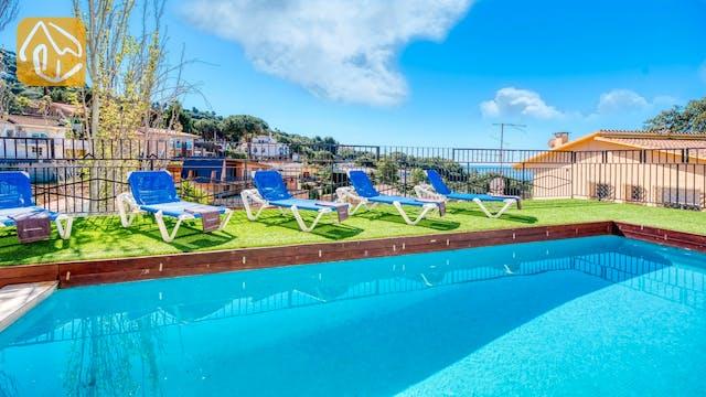 Casas de vacaciones Costa Brava España - Villa Donna - Piscina