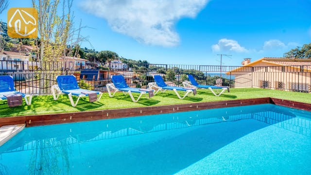 Vakantiehuizen Costa Brava Spanje - Villa Donna - Zwembad