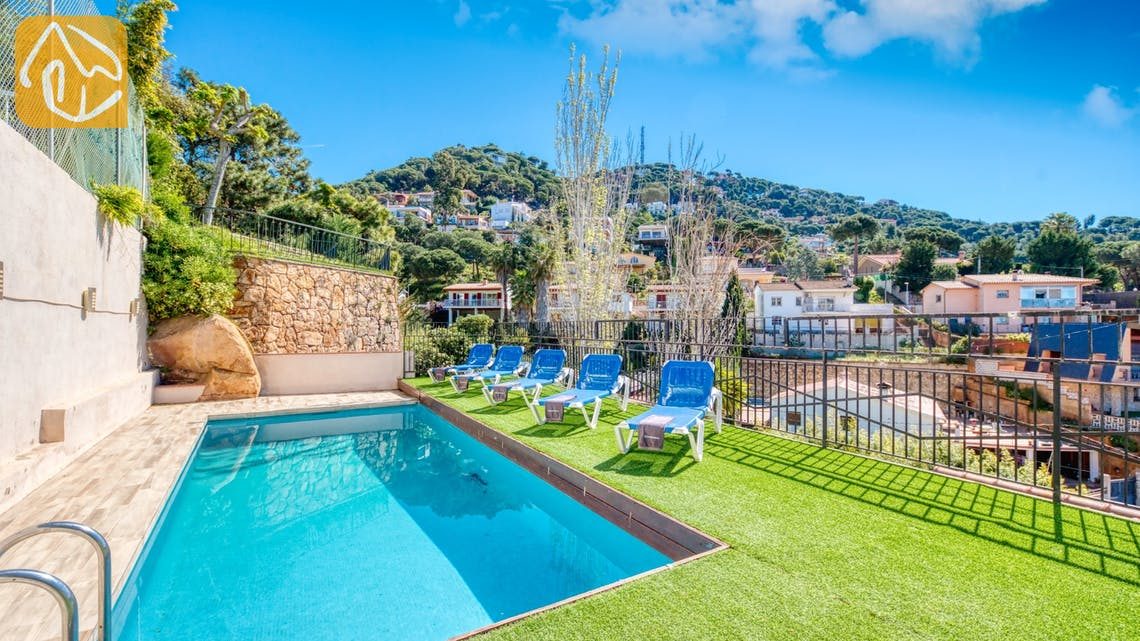 Holiday villas Costa Brava Spain - Villa Donna - Swimming pool