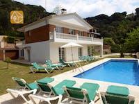Villas de vacances Costa Brava Espagne - Villa Jade - Jardin