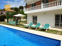 Ferienhäuser Costa Brava Spanien - Villa Jade - Schwimmbad