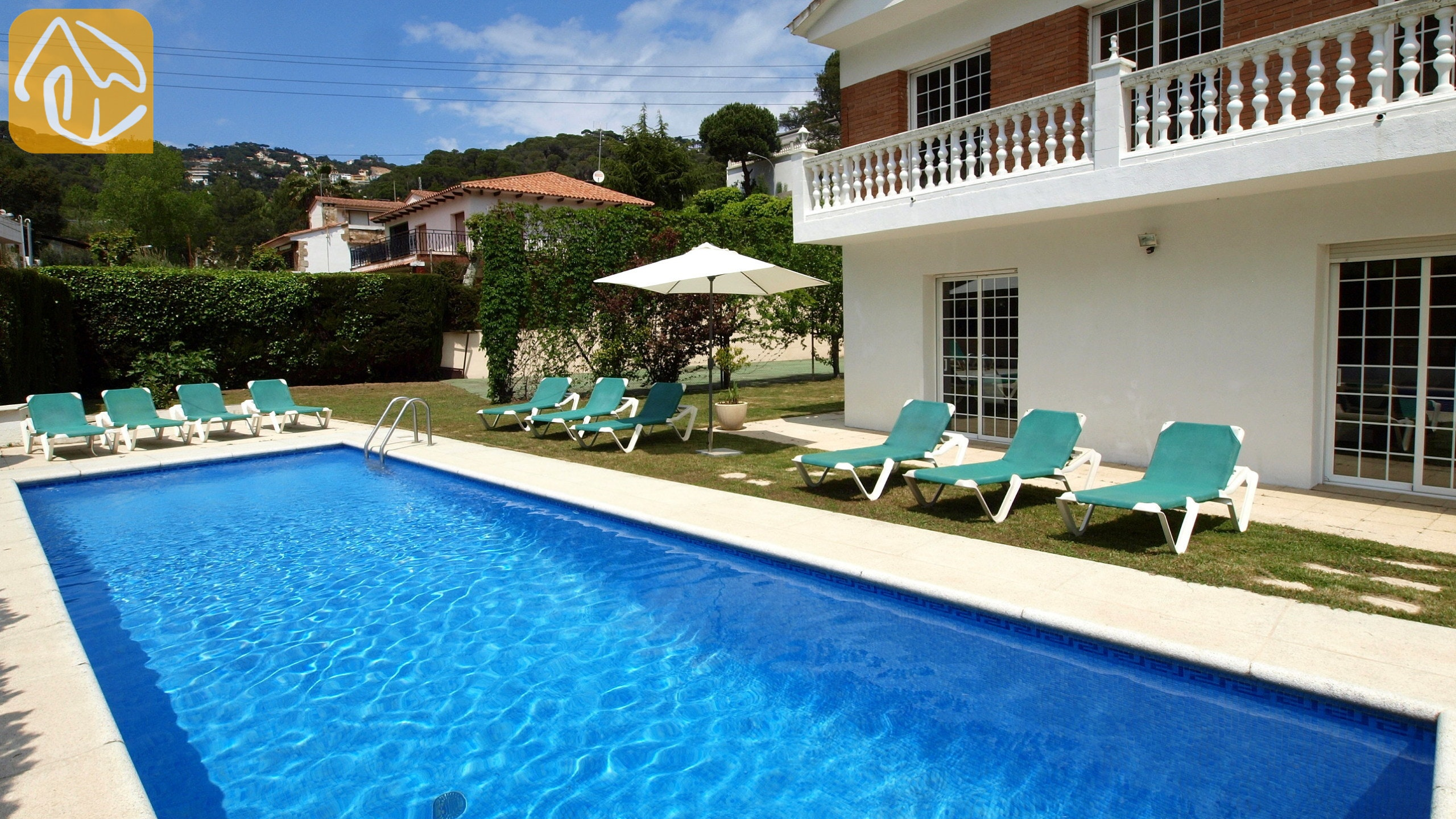Ferienhäuser Costa Brava Spanien   Villa Jade   Schwimmbad
