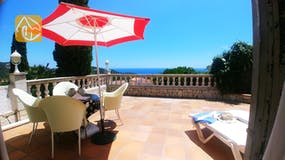 Holiday villas Costa Brava Spain - Casa Evita - Terrace