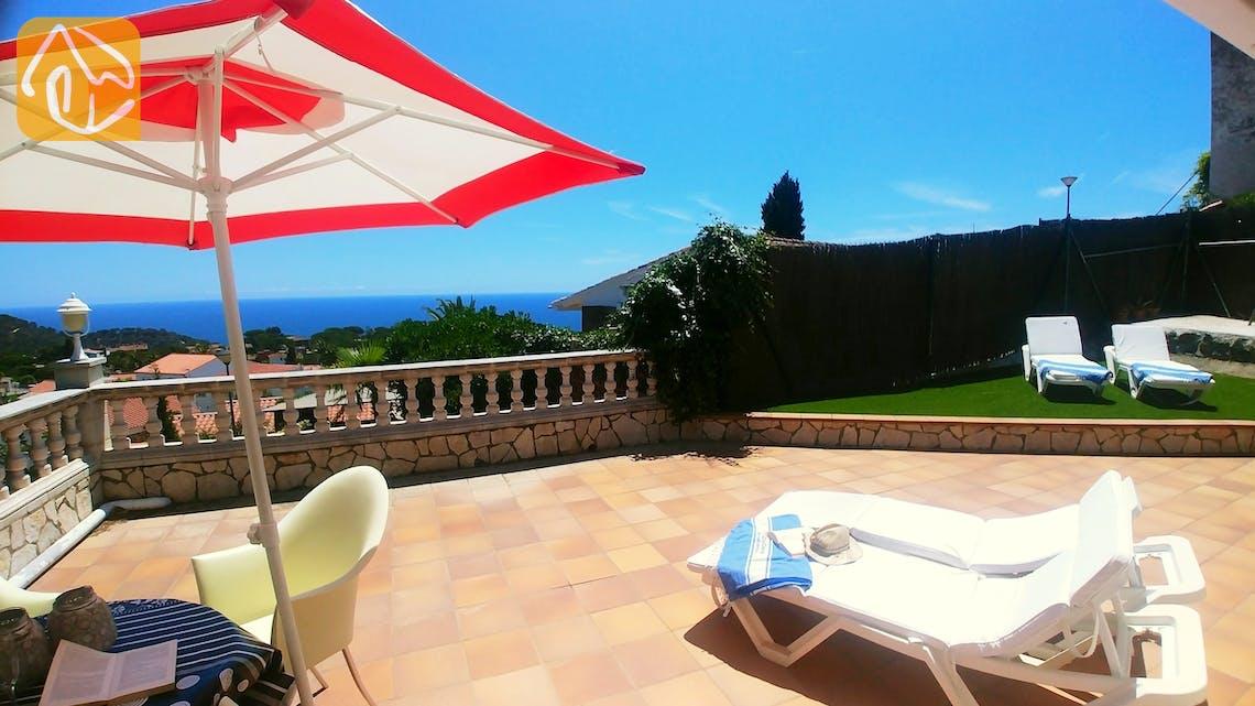 Vakantiehuizen Costa Brava Spanje - Casa Evita - Terras