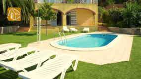 Holiday villa Costa Brava Spain - Villa Genova - Villa outside