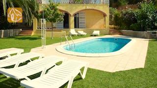 Ferienhäuser Costa Brava Spanien - Villa Genova - Villa Außenbereich