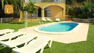 Holiday villas Costa Brava Spain - Villa Genova - Villa outside