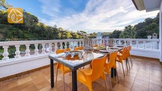 Ferienhäuser Costa Brava Spanien - Villa Rosa - Terrasse