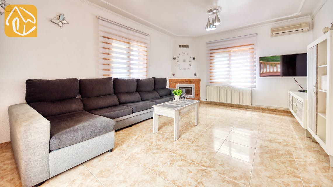 Villas de vacances Costa Brava Espagne - Villa Sarai - Zone de vie
